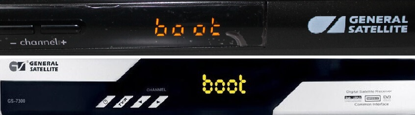 boot на ресивере триколор что делать